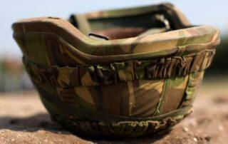 Army Helmet Upside Down