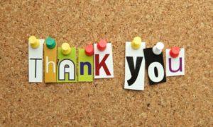 Thank-You Thursdays