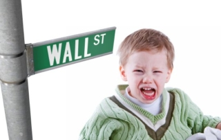 Wall Street Behaving Like a Toddler