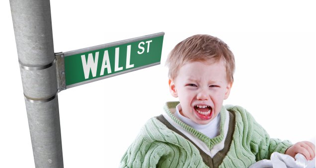 Wall Street Behaving Like a Toddler