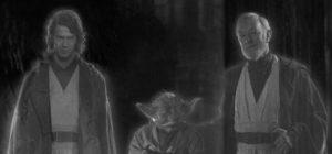 Anakin Skywalker, Yoda, Obi-Wan Kinobi Ghosts