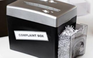 Complaints Box - Stop Complaining
