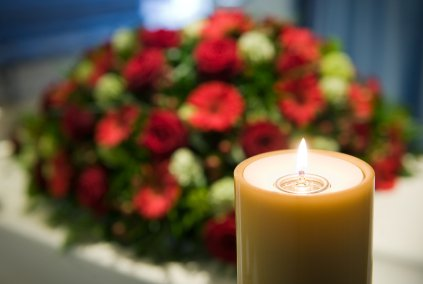 Candle at a Funeral