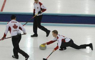 Canadian Curling Team in 2006 Winter Olympics in Torino, via Bjarte Hetland under Creative Commons