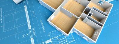 Floor Plan, Blueprint and Model