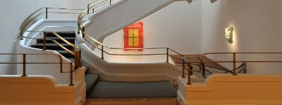 Phillips Staircase - Cropped - CC License - Kevin H. http://www.flickr.com/photos/16151021@N00