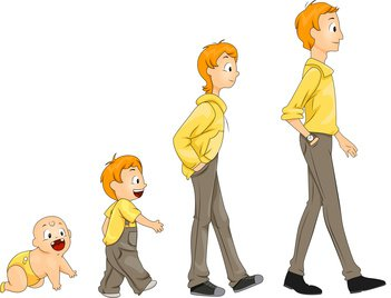Male Stages of Life - Growing Up