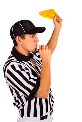 Referee Throwing Flag - Lockout