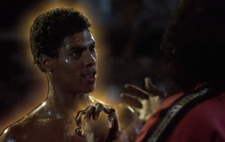 Shonuff asks Whos the master and Leroy says I am - Last Dragon