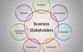 Business Stakeholders Circle