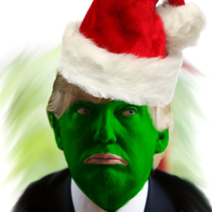 Donald Trump as The Grinch
