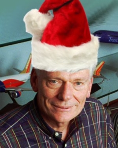 Herb Kelleher of Southwest Airlines Displays Christmas Spirit