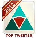 Modern Servant Leader - Top Tweeter 2012 - Standard Badge