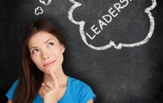 Woman Thinking About Leadership