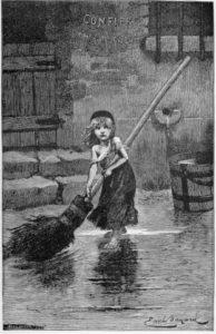 Fantine's Orphaned Daughter, Cosette.