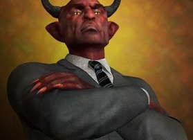 Screwtape Letters Demon in a Suit from C.S. Lewis