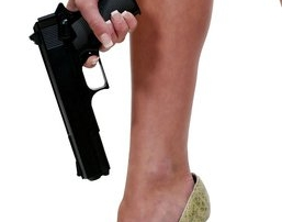Woman Shoots Herself in the Foot