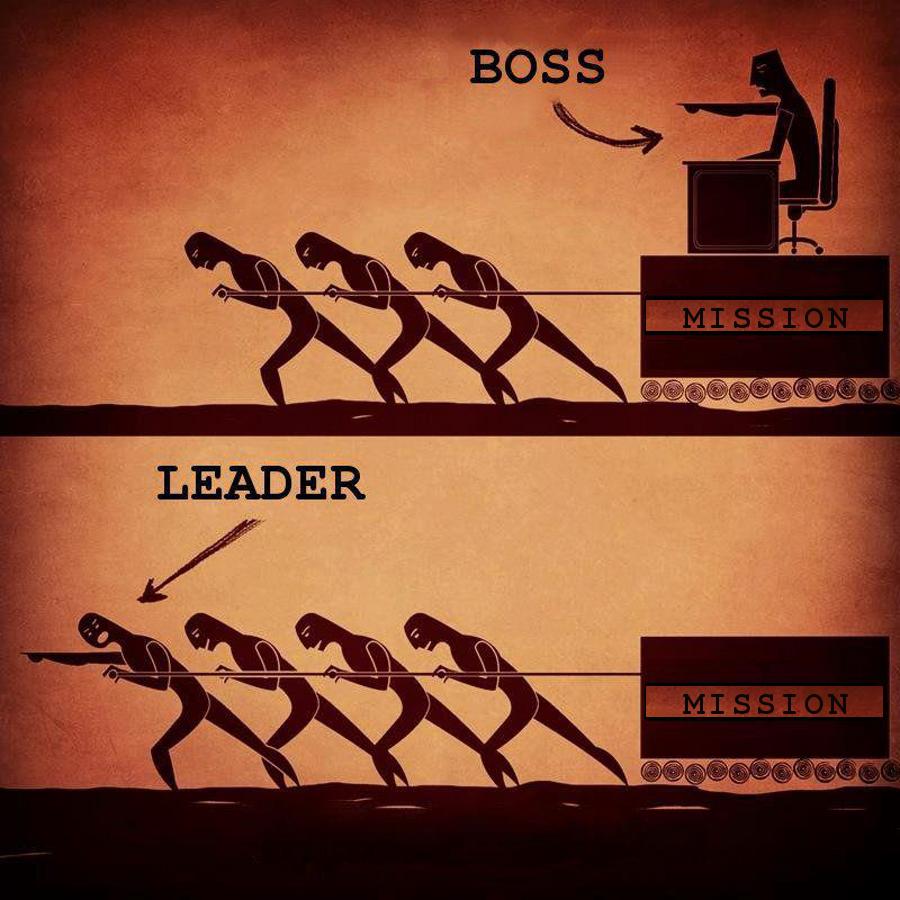 Bad Boss vs. Good Leader Image - Modern Servant Leader