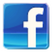 Facebook icon - transparent square