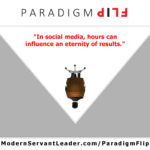 In social media, hours can influence an eternity of results.