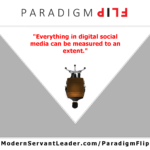 Everything in digital social media can be measured to an extent.
