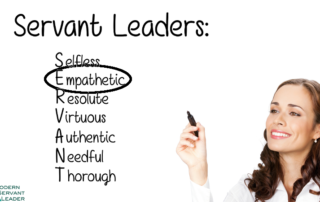 Servant Leadership Acronym - Empathetic