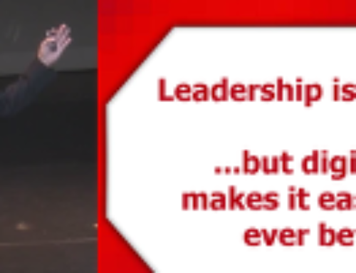 Digital Media and the Future of Your Leadership – Video