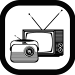 A TV and Radio represent the electronic era of leadership communication