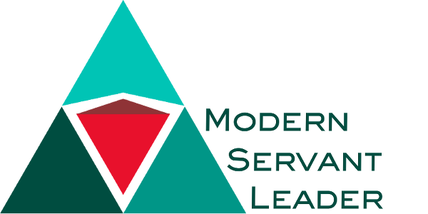 Servant Leadership - Modern Servant Leader Logo
