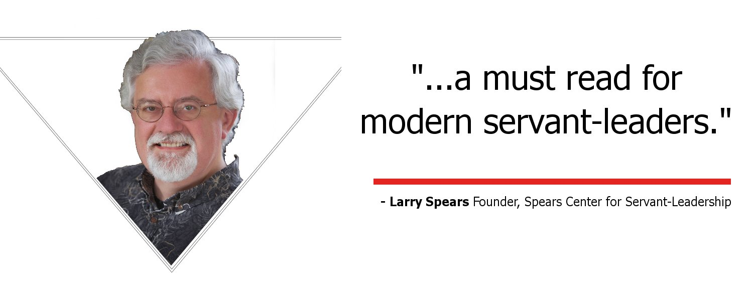 Paradigm Flip Book Testimonial from Larry Spears, Founder of Spears Center for Servant-Leadership