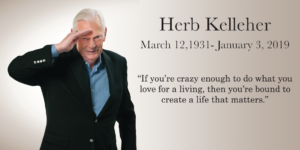 Herb Salutes Farewell and We Highlight his quote about creating a life that matters