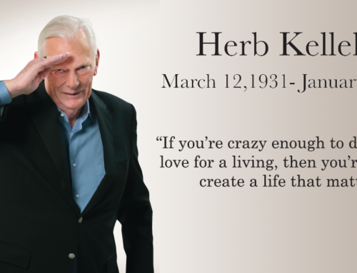 Herb Kelleher Completes His Service on Earth
