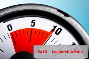 5x10 Leadership Rule Image