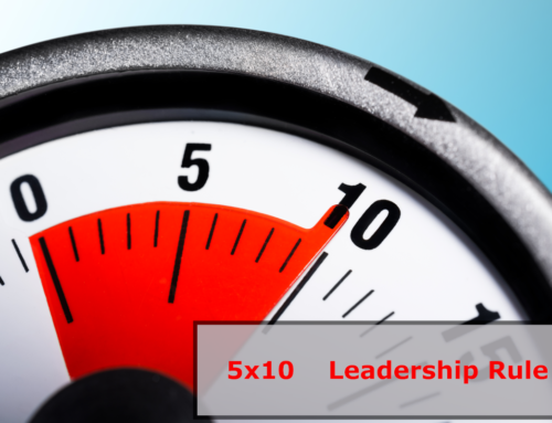 The 5×10 Leadership Rule