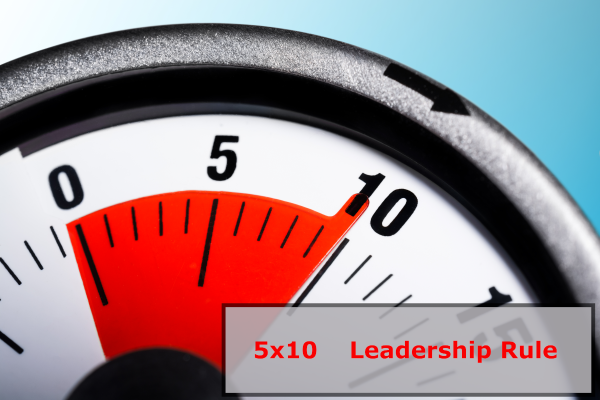 5x10 Leadership Rule Image