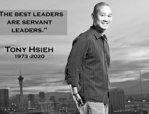 Tony Hsieh Completes His Service on Earth